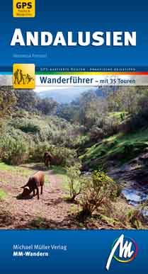 Wandern in Andalusien, Buchcover