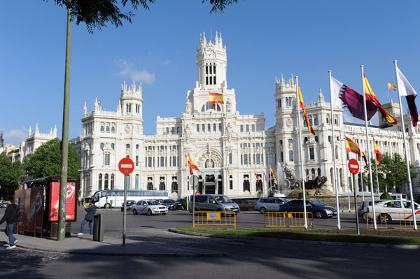 Cibeles-Platz in Madrid
