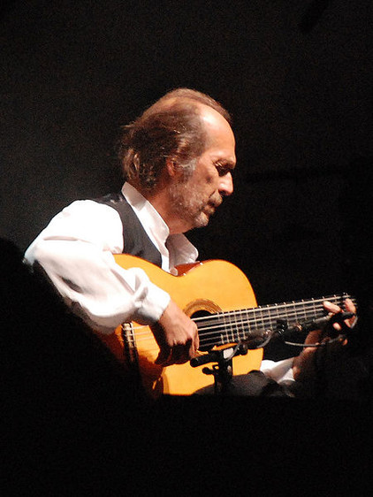 Flamenco in Andalusien, Gitarrist