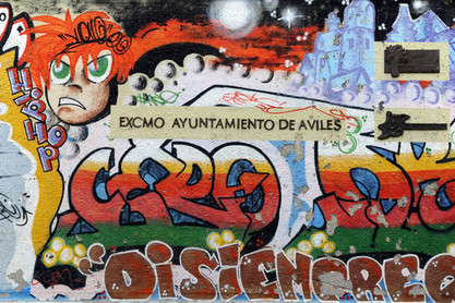 Graffiti in Aviles