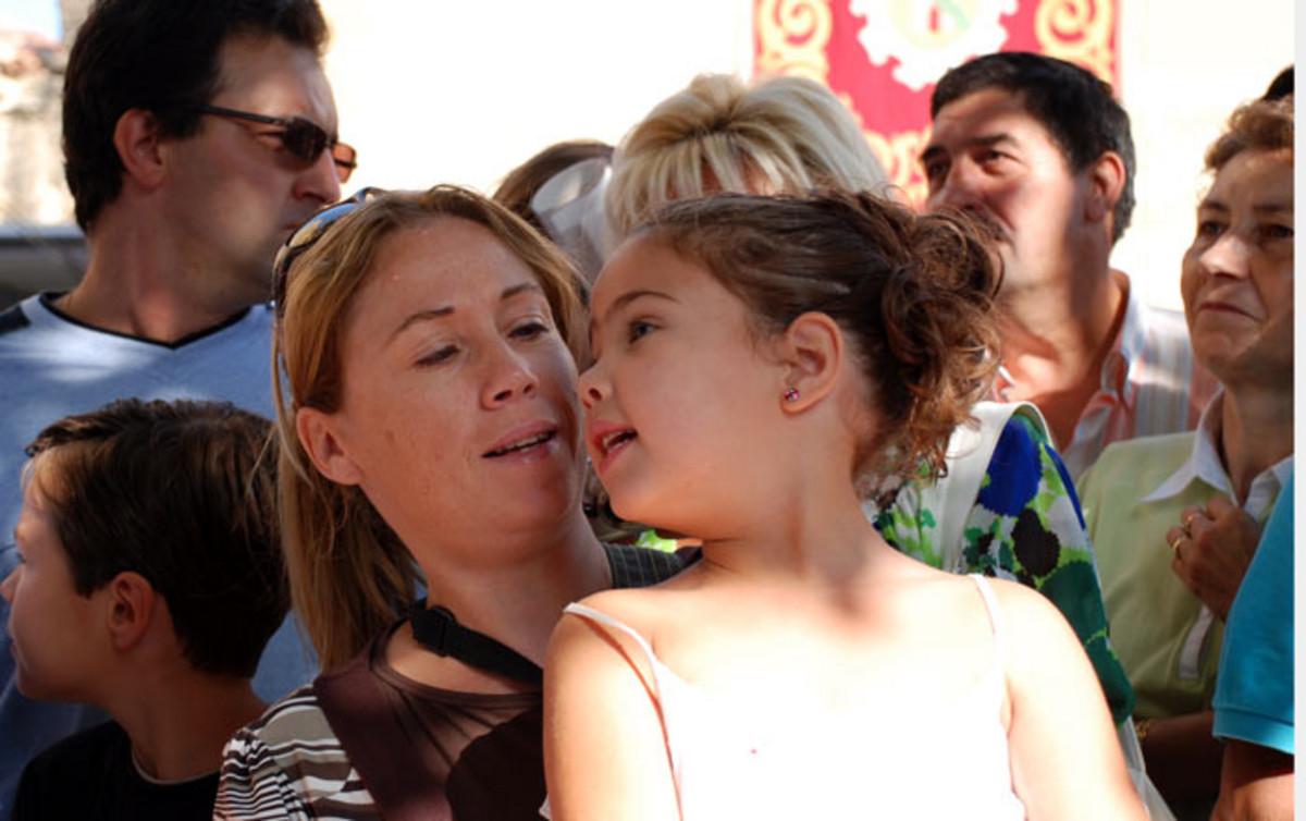 Spanisches Mutter-Tochter-Gespann