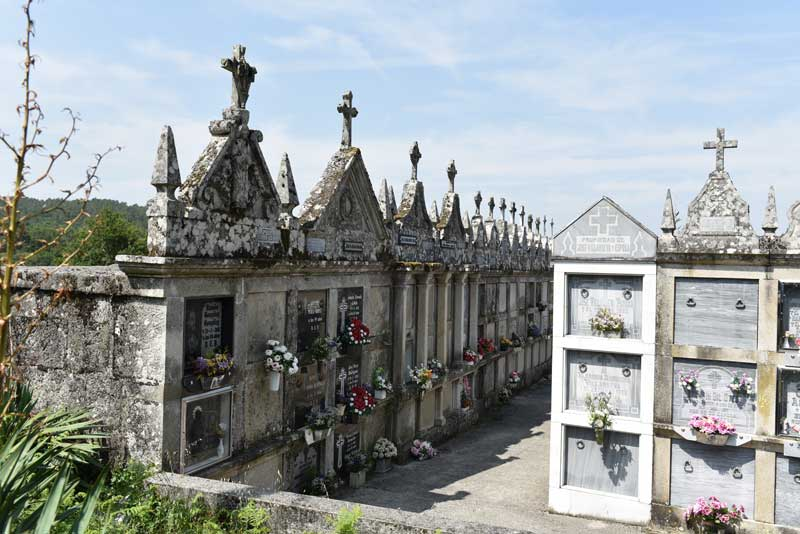 Friedhof in Spanien